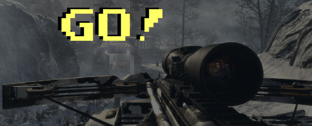 I play a lot of Call of Duty: Black Ops, and every time an online multiplayer game starts up, there are flashing yellow numbers for the countdown before the...